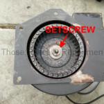 Combustion Motor Setscrew